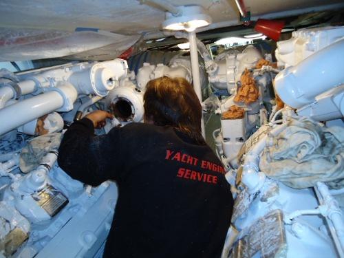 Yacht Engine Service - Man marine diesel partner French Riviera